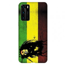 Coque pour Huawei P40 PRO Bob Marley Drapeau