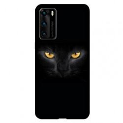Coque pour Huawei P40 PRO Chat Noir
