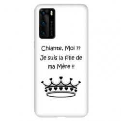 Coque pour Huawei P40 PRO Humour Moi chiante