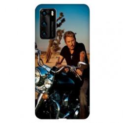 Coque pour Huawei P40 PRO Johnny Hallyday Moto