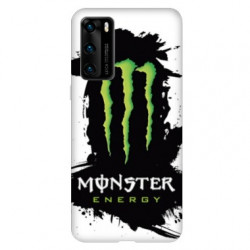 Coque pour Huawei P40 PRO Monster Energy tache