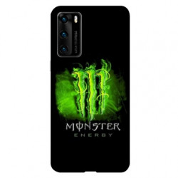Coque pour Huawei P40 PRO Monster Energy Vert