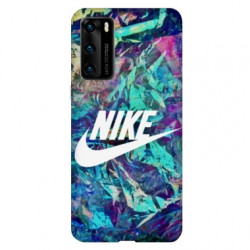Coque pour Huawei P40 PRO Nike Turquoise