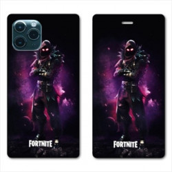 RV Housse cuir portefeuille pour Samsung Galaxy S20 Ultra Fortnite Raven