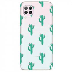 Coque transparente pour Huawei P40 Lite Cactus