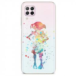 Coque transparente pour Huawei P40 Lite Dobby colore