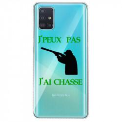 Coque transparente pour Samsung Galaxy S20 jpeux pas jai chasse