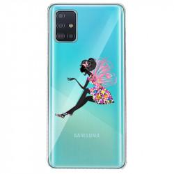 Coque transparente pour Samsung Galaxy S20 magique fee fleurie