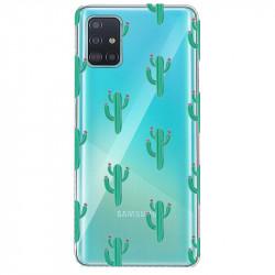 Coque transparente pour Samsung Galaxy S20 Plus Cactus