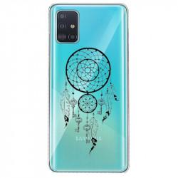 Coque transparente pour Samsung Galaxy S20 Plus feminine attrape reve cle