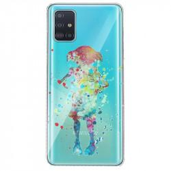 Coque transparente pour Huawei P40 Dobby colore