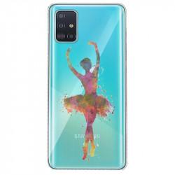Coque transparente pour Huawei P40 Pro Danseuse etoile