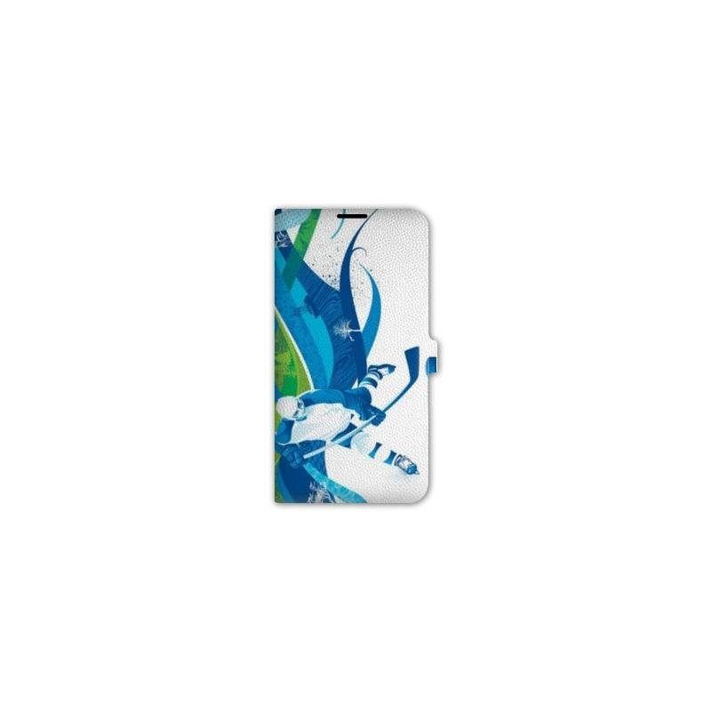 Housse cuir portefeuille Iphone 6 / 6s  Sport Glisse