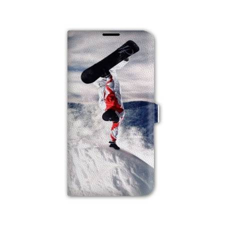 Housse cuir portefeuille cuir Iphone 6  Sport Glisse