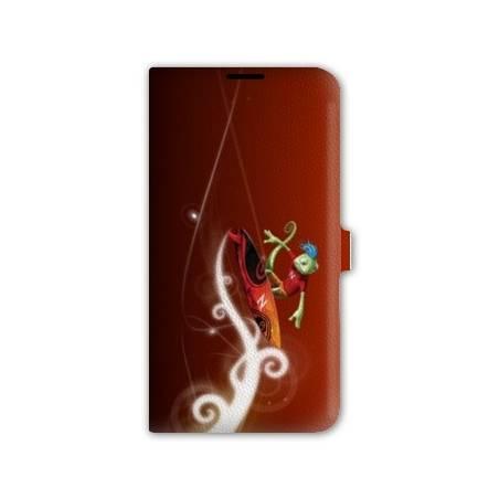 Housse cuir portefeuille cuir Iphone 6  Sport Glisse
