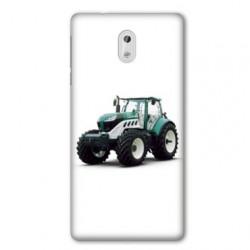 Coque pour Nokia 2.3 Agriculture Tracteur Blanc