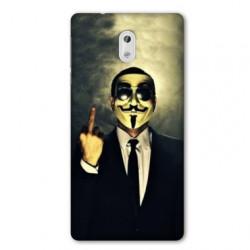 Coque pour Nokia 2.3 Anonymous doigt