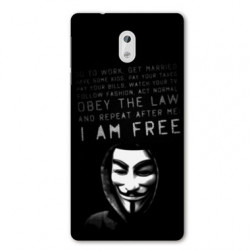 Coque pour Nokia 2.3 Anonymous I am free