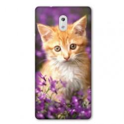 Coque pour Nokia 2.3 Chat Violet