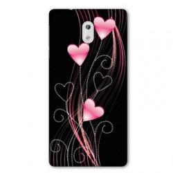 Coque pour Nokia 2.3 Cœur rose Montant