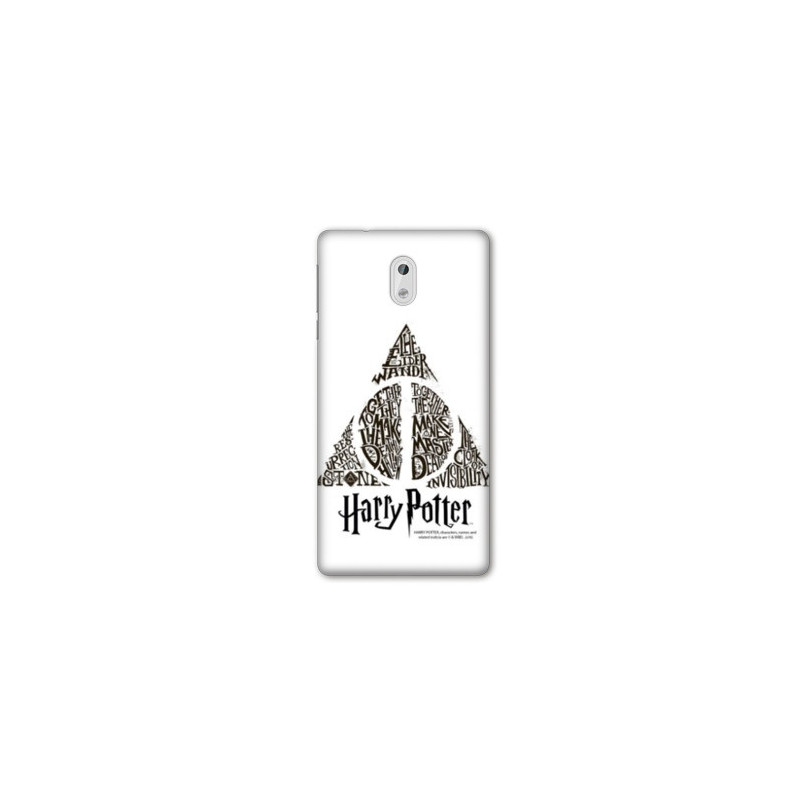 Coque pour Nokia 2.3 WB License harry potter pattern triangle Blanc