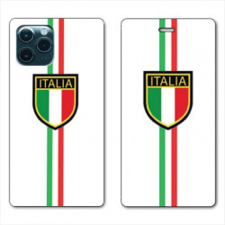 RV Housse cuir portefeuille pour Huawei P40 Pro Italie 3