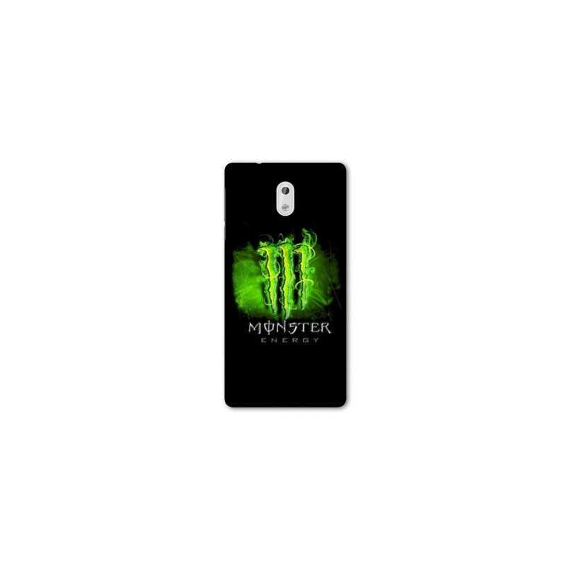 Coque pour Nokia 2.3 Monster Energy Vert