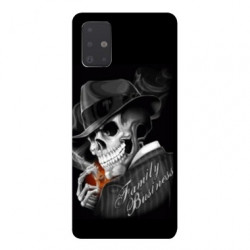 Coque pour Samsung Galaxy Note 10 Lite tete de mort family business