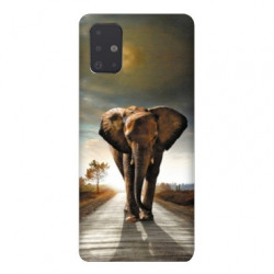 Coque pour Samsung Galaxy Note 10 Lite savane Elephant route