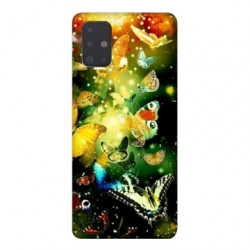 Coque pour Samsung Galaxy Note 10 Lite papillons papillon jaune