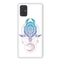 Coque pour Samsung Galaxy Note 10 Lite Animaux Maori tortue color