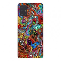Coque pour Samsung Galaxy Note 10 Lite Psychedelic Yeux