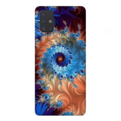 Coque pour Samsung Galaxy Note 10 Lite Psychedelic Spirale