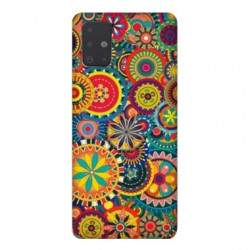 Coque pour Samsung Galaxy Note 10 Lite Psychedelic Roue