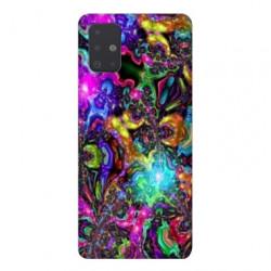 Coque pour Samsung Galaxy Note 10 Lite Psychedelic colore