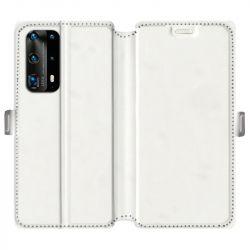 RV Housse cuir portefeuille pour Huawei P40 personnalisée recto / verso