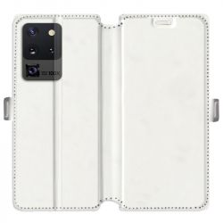 RV Housse cuir portefeuille pour Samsung Galaxy S20 Ultra personnalisée recto / verso