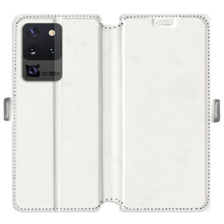 RV Housse cuir portefeuille pour Samsung Galaxy S20 Ultra personnalisée recto / verso