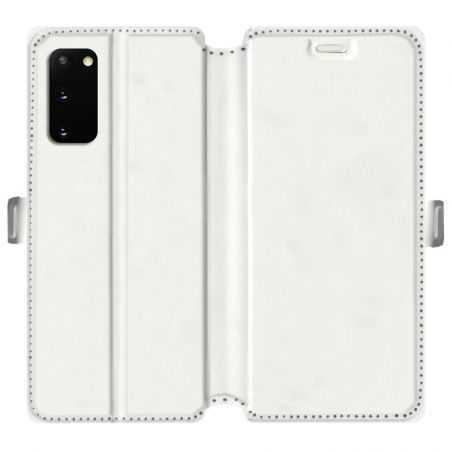 RV Housse cuir portefeuille pour Samsung Galaxy S20 personnalisée recto / verso