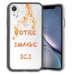 Coque transparente iPhone XR personnalisee