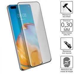 Vitre protection / Verre trempé 3D incurvé Huawei P40