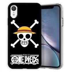 Coque pour iphone XR Manga One Piece tete de mort