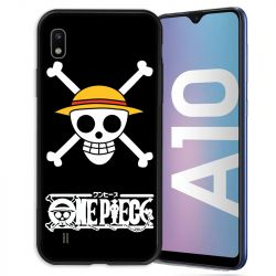 Coque pour Samsung Galaxy A10 Manga One Piece tete de mort