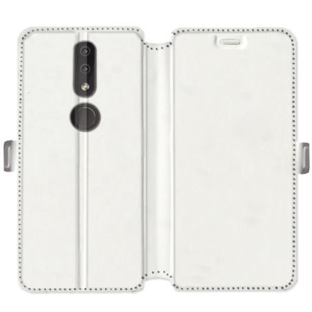 Housse cuir portefeuille Nokia 4.2 personnalisee
