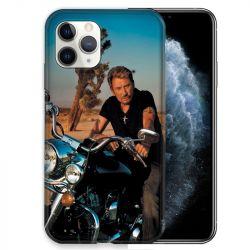 Coque pour iphone 11 Pro (5,8) Johnny Hallyday Moto
