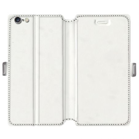 Housse cuir portefeuille iPhone 6 / 6s personnalisee recto / verso
