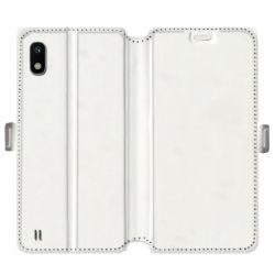 Housse cuir portefeuille Samsung Galaxy A10 personnalisee recto / verso