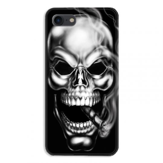 Coque pour iphone 7  / 8 / SE (2020) tete de mort