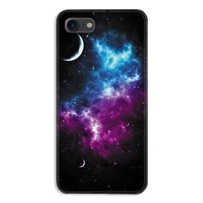 Coque pour iphone 7  / 8 / SE (2020) Espace Univers Galaxie