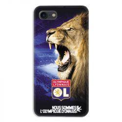 Coque pour iphone 7  / 8 / SE (2020) Licence Olympique Lyonnais - Rage de vaincre